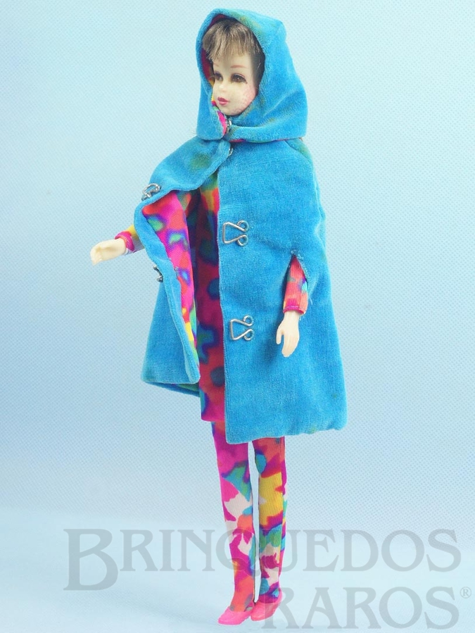 Brinquedo antigo Boneca Francie prima da Barbie vestindo o Conjunto Style Setters Anos 1966 e 1967 Para maiores informações sobre essa Boneca veja Coleções.