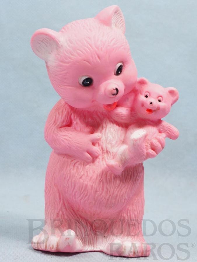 Brinquedo antigo Boneca Mamãe Ursa com 16,00 cm de altura Ano 1973
