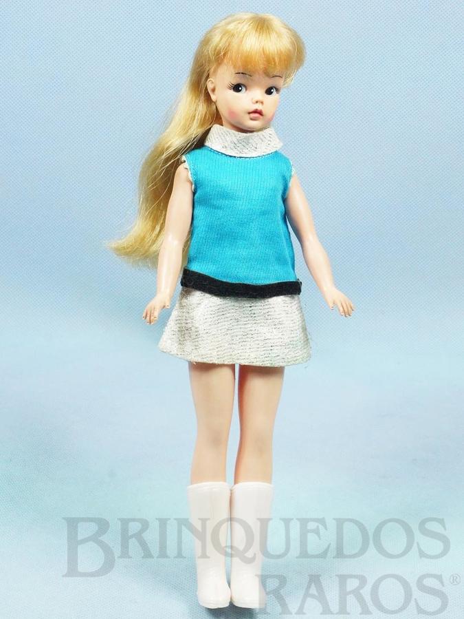 Brinquedo antigo Boneca Susi 100% original Olhos Pintados Perfeito estado Completa Primeira Série Ano 1968