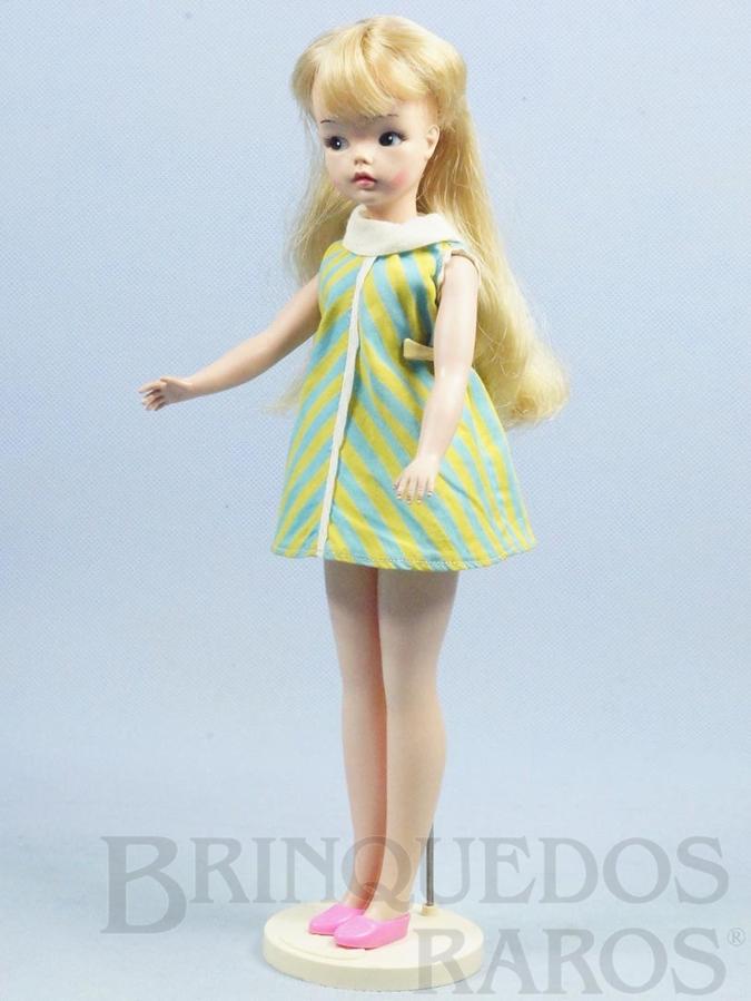 Brinquedo antigo Boneca Susi 100% original Olhos Pintados Primeira Série Completa com Suporte Ano 1966