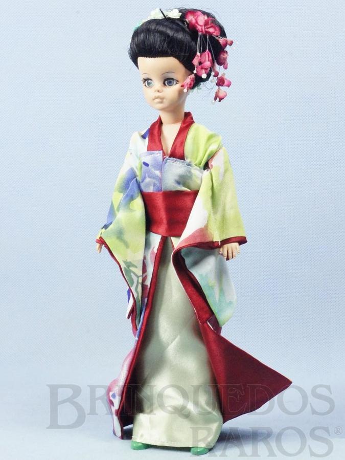 Brinquedo antigo Boneca Susi Japonesa Série Susi faz Pose 100% original Perfeito estado Completa Ano 1971