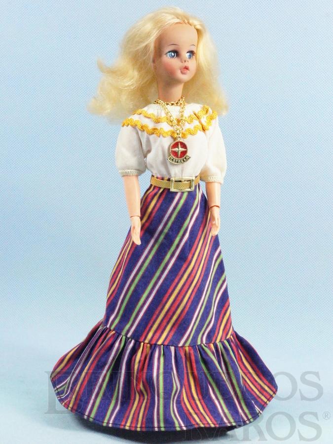 Brinquedo antigo Boneca Susi Série Pulsos móveis 100% original Perfeito estado Completa Ano 1978