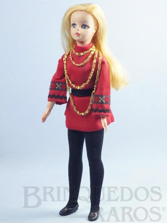 Brinquedo antigo Boneca Susi Série Pulsos móveis Toda original Perfeito estado Completa Ano 1972