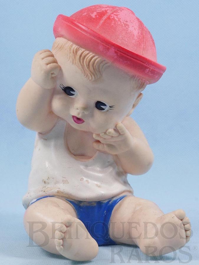 Brinquedo antigo Boneco Nininho com 16,00 cm de altura Ano 1967