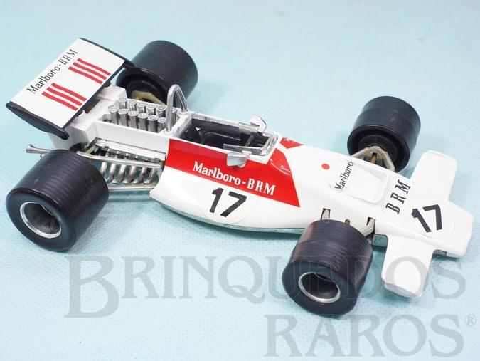 Brinquedo antigo BRM Marlboro Formula 1 piloto Jean Pierre Beltoise Politoys Ano 1971