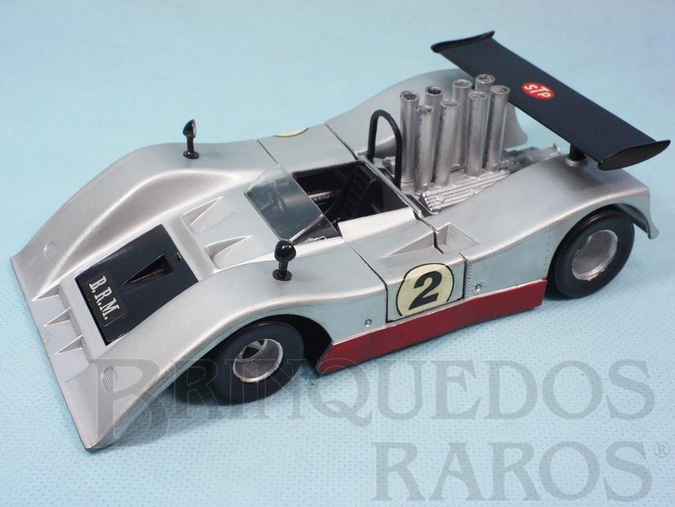 Brinquedo antigo BRM P154 CAN AM Polistil Década de 1970