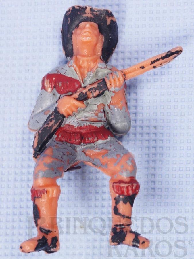 Brinquedo antigo Figura de Bufalo Bill Gulliver numerado 125
