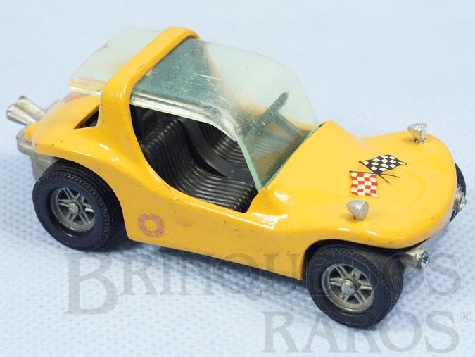 Brinquedo antigo Buggy Draco amarelo com Capota Fabricada pela Brosol Un Solido fait seulement au Brésil Solido brésilienne Década de 1980