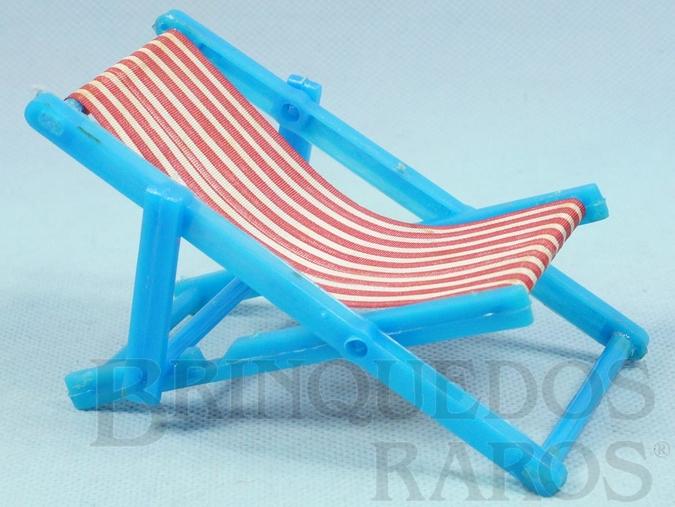 Brinquedo antigo Cadeira de preguiça para Bonecas de 8,00 cm de altura Década de 1970