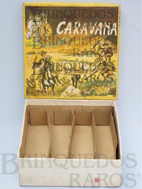Brinquedo antigo Caixa do Conjunto Caravana perfeito estado Completa Integra e 100% Original Ano 1964