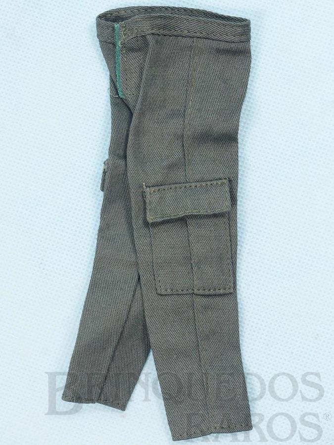 Brinquedo antigo Calça do Soldado de Combate Série Força de Ataque Edição 2000