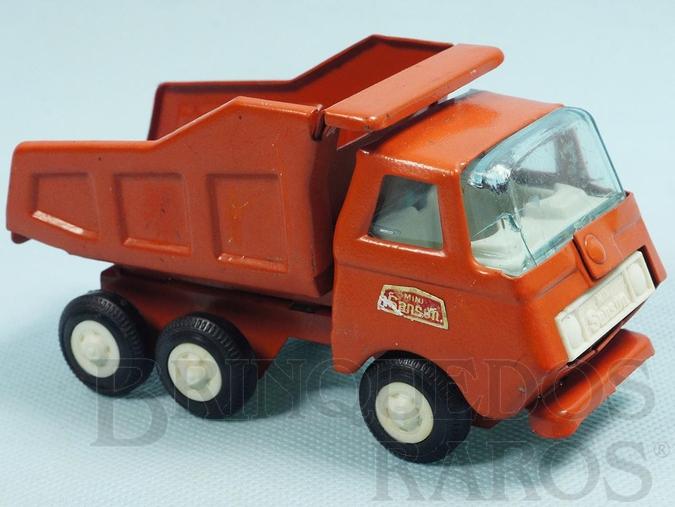 Brinquedo antigo Caminhão Basculante com 13,00 cm de comprimento Série Mini Sanson Década de 1970