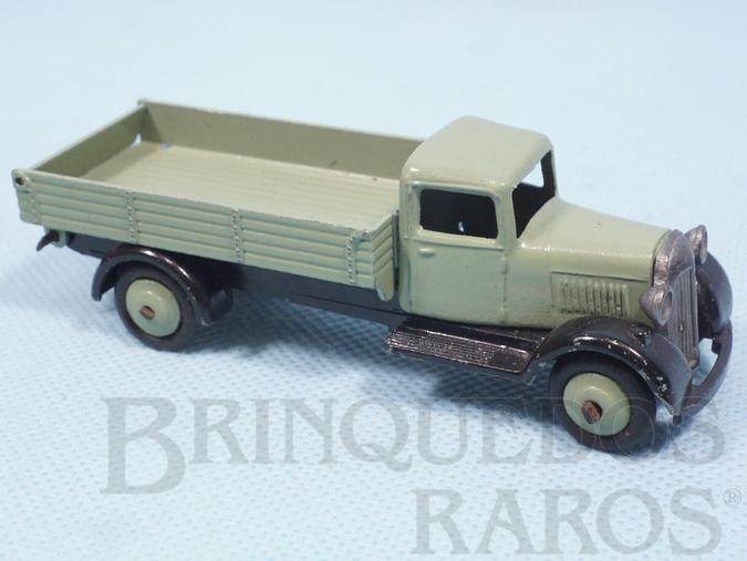 Brinquedo antigo Caminhão Basculante Dump truck Ano 1935 a 1939