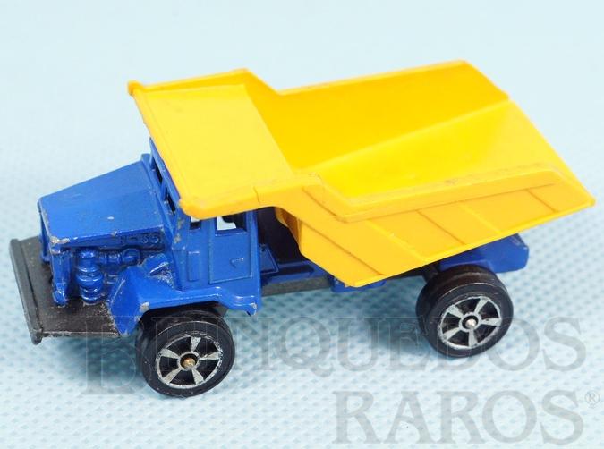 Brinquedo antigo Caminhão Terex R35 Rear Dump Truck Corgi Jr Ano 1972