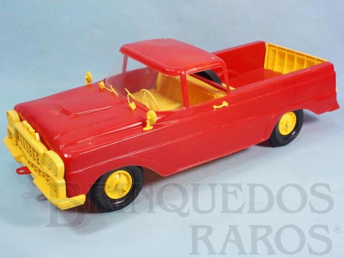 Brinquedo antigo Caminhonete Atma com 37,00 cm de comprimento Completa perfeito estado Coleção Carlos Augusto Década de 1970