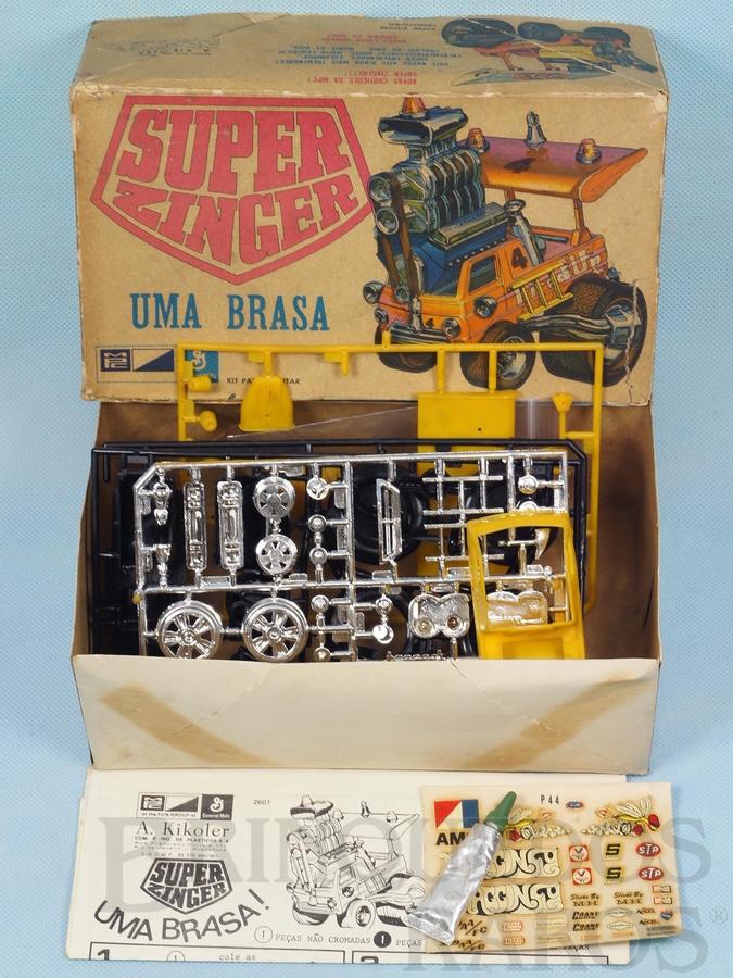 Brinquedo antigo Caminhonete Monstro Super Zinger