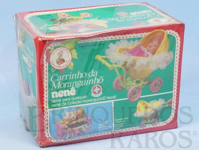 Brinquedo antigo Carrinho da Moranguinho Nenê Caixa Lacrada Década de 1980