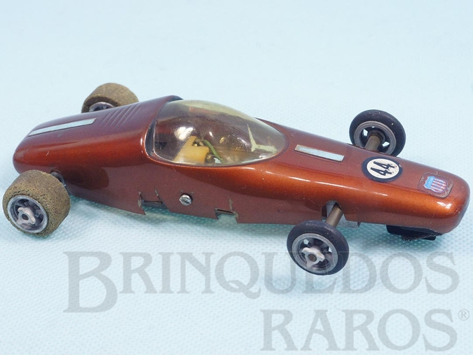 Brinquedo antigo Carro Bandit Protótipo com Carroceria Bolha Chassi e rodas de magnésio 100% original Década de 1970