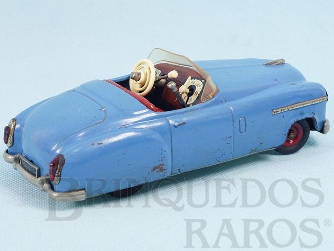 Brinquedo antigo Carro Conversível Combinato 4003 Motor com 3 marchas Neutro Ré e buzina 19,00 cm de comprimento Ano 1955 a 1966