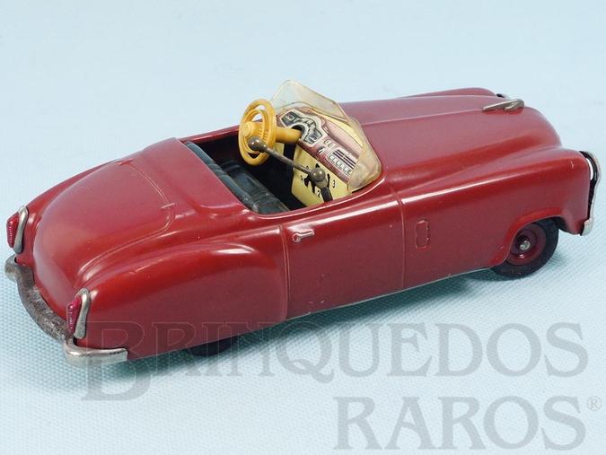 Brinquedo antigo Carro Conversível Examico 4004 Motor com 4 marchas Neutro e Ré 19,00 cm de comprimento Ano 1957 a 1966