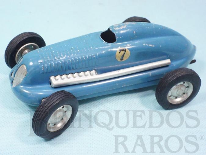 Brinquedo antigo Carro de Corrida Mighty Midget Electric Racer com 16,00 cm de comprimento Ano 1949