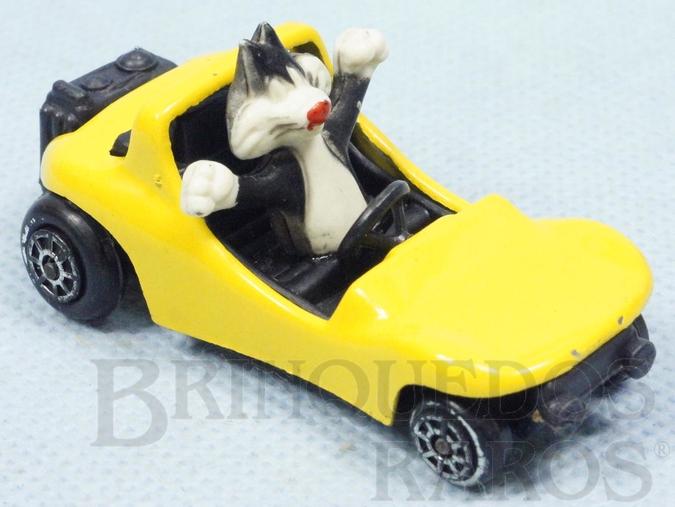 Brinquedo antigo Carro do Frajola com 6,5 cm de comprimento Década de 1970