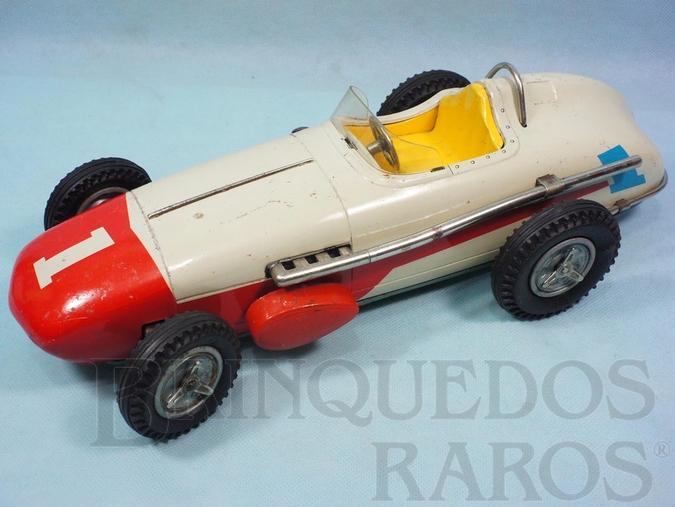 Brinquedo antigo Carro Formula Indy Indianapolis 500 Racer com 39,00 cm de comprimento Década de 1960