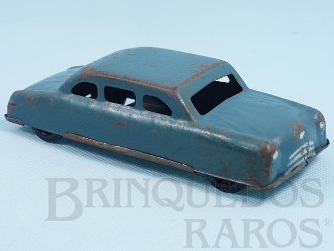 Brinquedo antigo Carro Sedan com 12,00 cm de comprimento Década de 1860