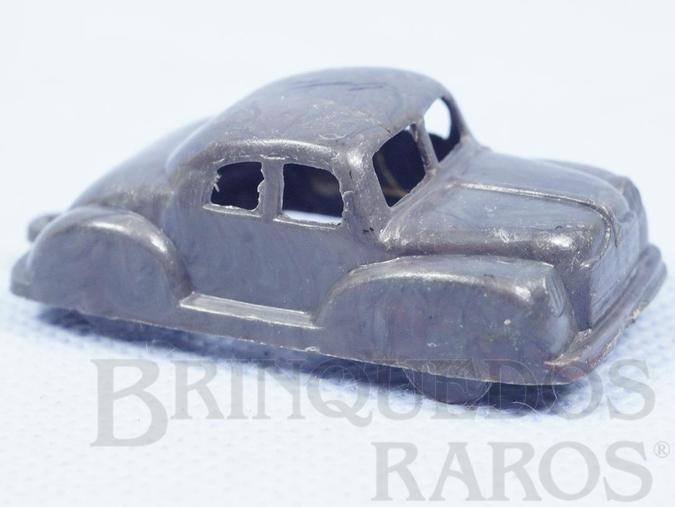Brinquedo antigo Carro Sedan com 5,00 cm de comprimento Plástico Marmorizado Década de 1950