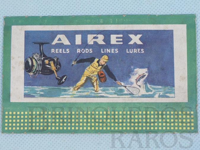 Brinquedo antigo Cartaz 310 Bilboard Plates Airlex Ano 1950 a 1968