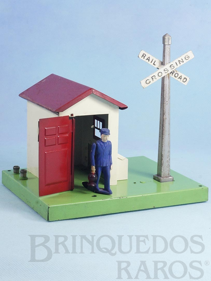 Brinquedo antigo Casa do guarda 45N Automatic Gateman Ano 1945