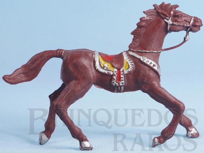 Brinquedo antigo Cavalo de Cowboy Marrom este