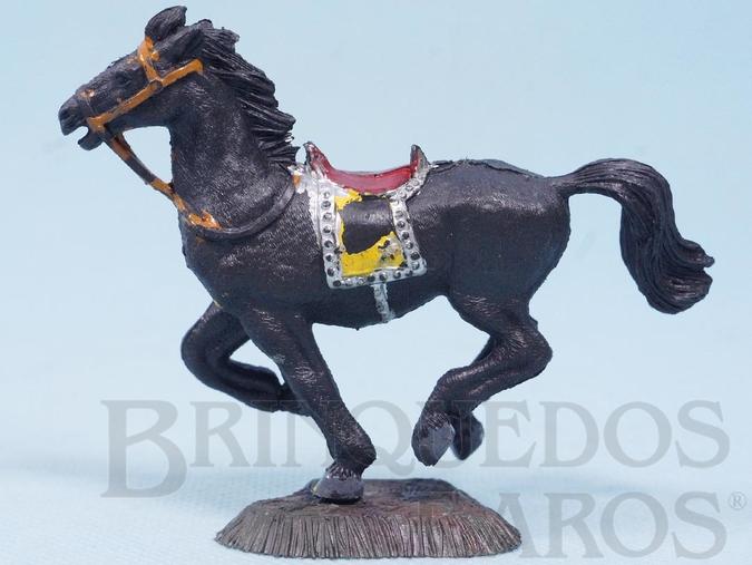 Brinquedo antigo Cavalo de Cowboy preto Série Heróis Década de 1970 RESERVED***JF***