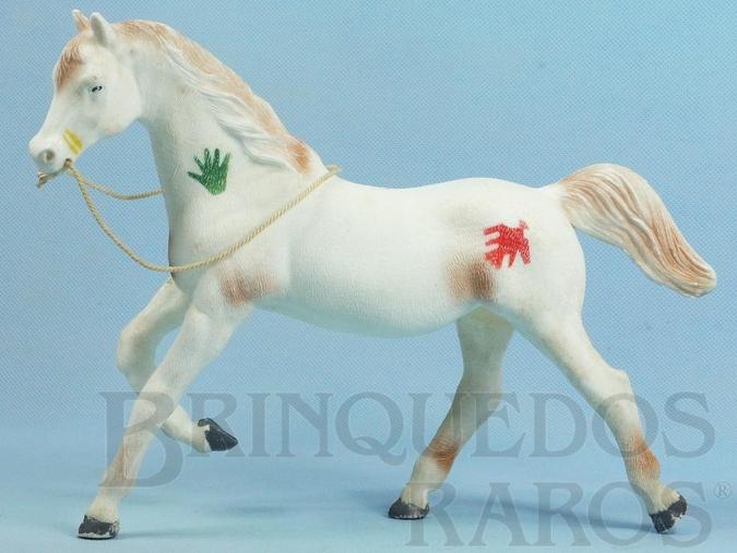 Brinquedo antigo Série Super Amigos Cavalo Índio com 23,00 cm de altura Perfeito estado Ano 1977