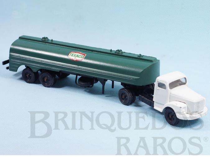 Brinquedo antigo Cavalo Mecânico Scania Vabis L111 com carreta Texaco