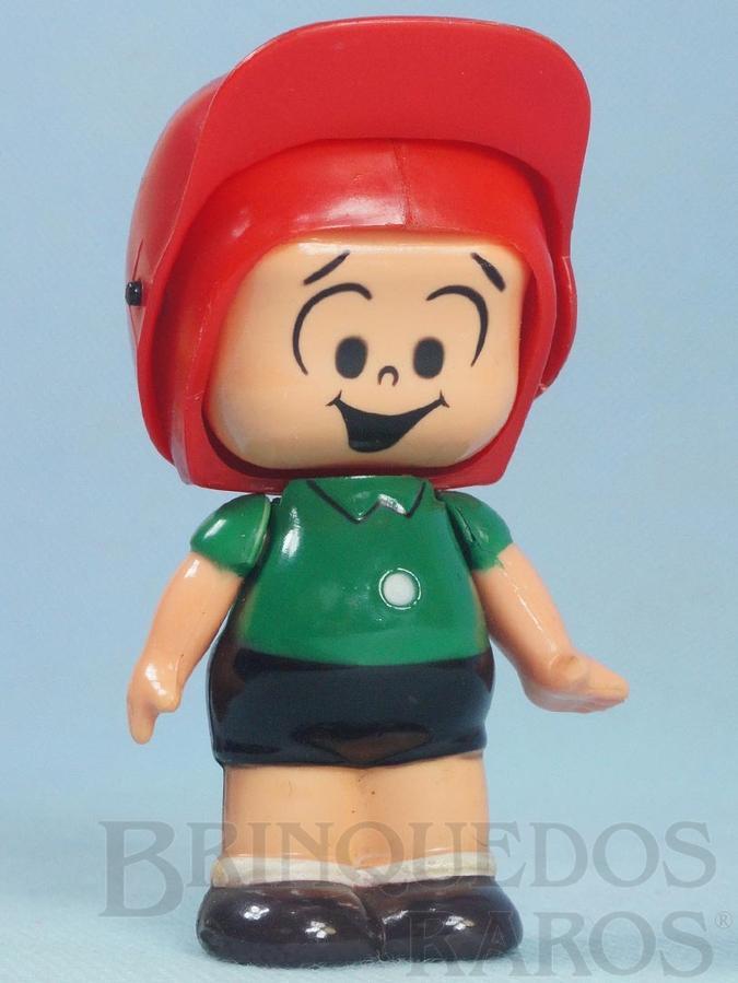 Brinquedo antigo Cebolinha Série Mix Faces com 10,00 cm de altura Maurício de Sousa Ano 1989
