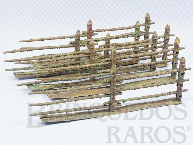 Brinquedo antigo Cerca com 26,00 cm de comprimento Série Fazenda Chaparral Gulliver Década de 1970 Perfeito estado Preço por unidade