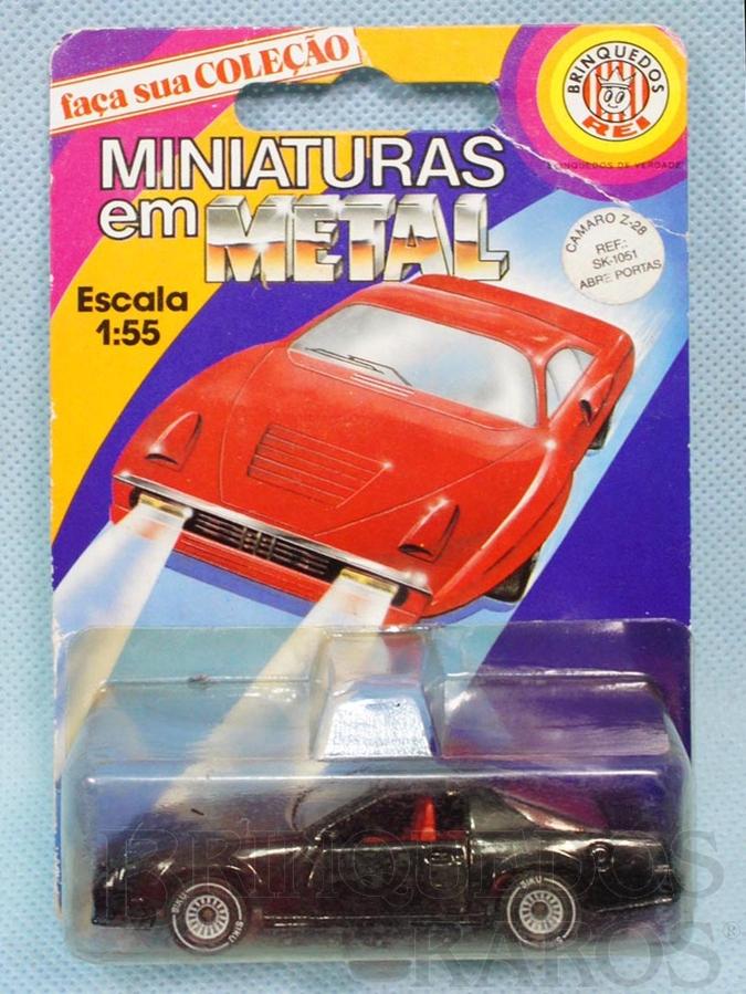 Brinquedo antigo Chevrolet Camaro Z-28 Brasilianische Siku Blister Lacrado Alfema