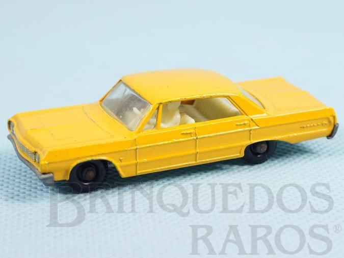 Brinquedo antigo Chevrolet Impala Taxi black plastic Regular Wheels Falta o adesivo