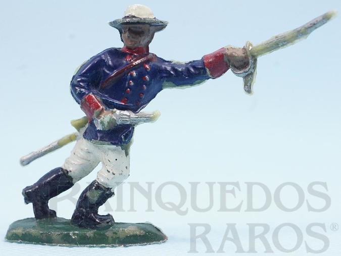 Brinquedo antigo Comandante do Exército Brasileiro com Sabre e revolver Batalha do Tuiutí Década de 1960