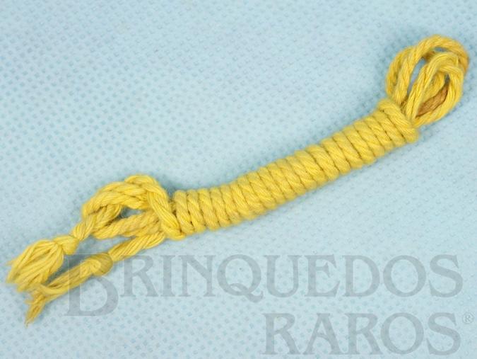 Brinquedo antigo Corda Amarela Aventura Mochila de Campanha Série 1978