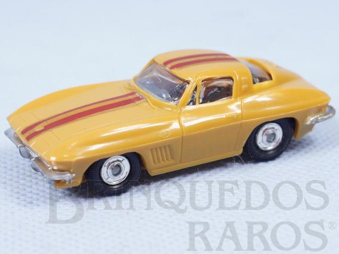 Brinquedo antigo Corvette Sting Ray com 6,50 cm de comprimento Década de 1970