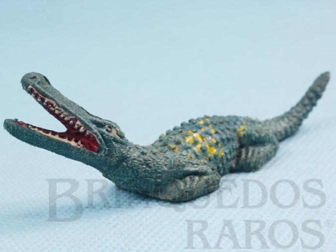 Brinquedo antigo Crocodilo Série Tarzan e Safari na África Ano 1973