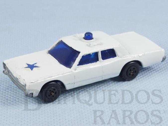 Brinquedo antigo Cruiser Muky Superveloz cópia do Police Cruiser lançado pela Hot Wheels em 1969 Década de 1970