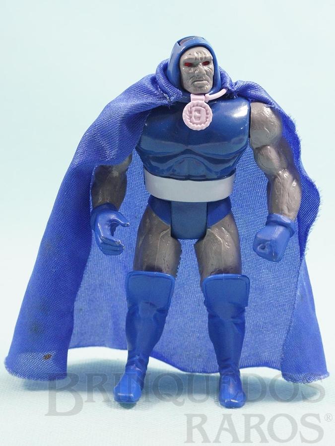 Brinquedo antigo Darkseid articulado completo com Capa Coleção Super Powers Ano 1988