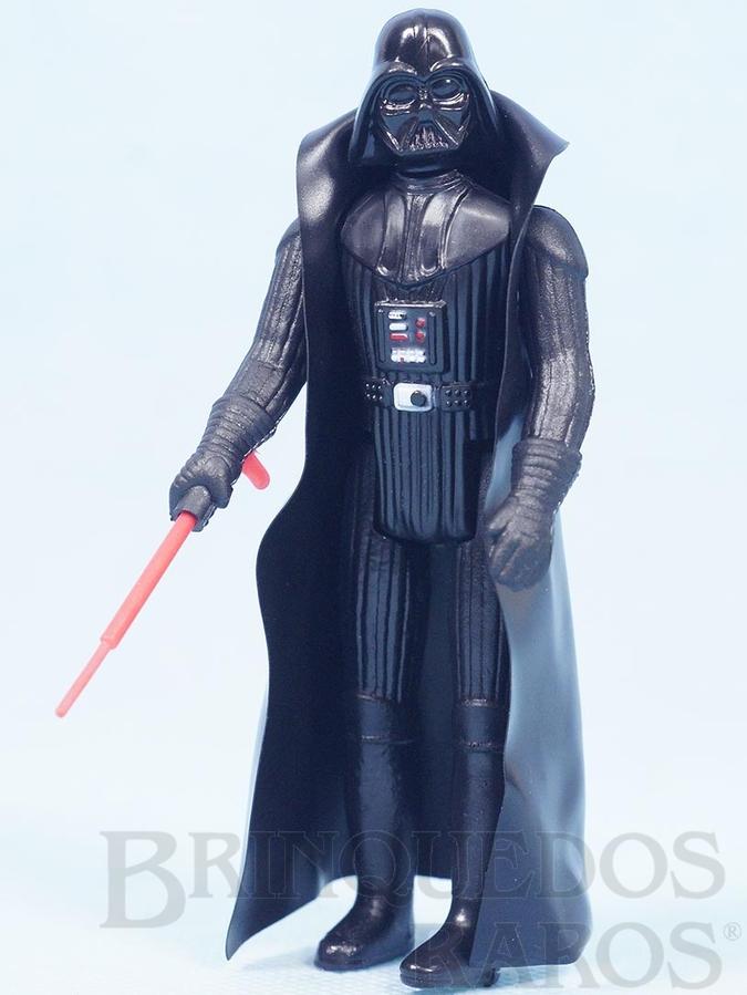 Brinquedo antigo Darth Vader Star Wars Lucas Film perfeito estado completo com Capa e Sabre de Luz Década de 1980