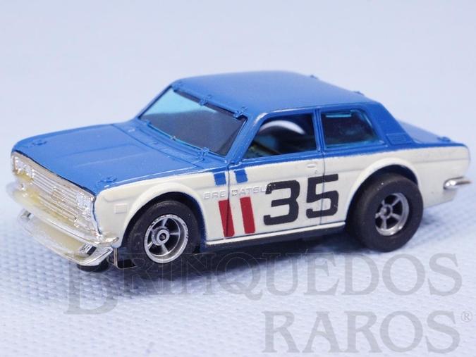 Brinquedo antigo Datsun BRE 510 Série AFX Model Motoring Década de 1970