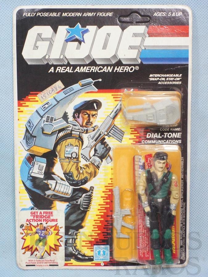 Brinquedo antigo Dial Tone completo Blister lacrado Ano 1985