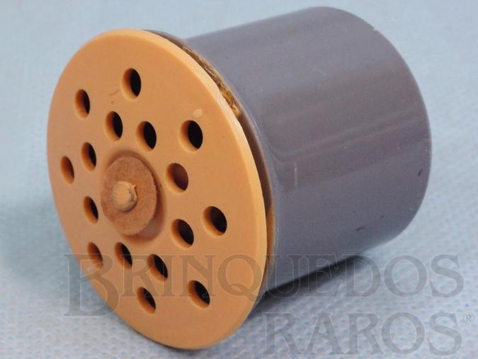 Brinquedo antigo Dispositivo de choro com 4,5 cm de diâmetro Patente 60513 Equipava as Bonecas Estrela na Década de 1960