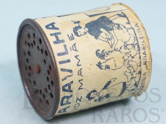 Brinquedo antigo Dispositivo de choro com 4,8 cm de diâmetro Equipava as Bonecas Estrella na Década de 1940